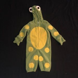 "Frog ""over clothes"" Animal costume for Toddler"